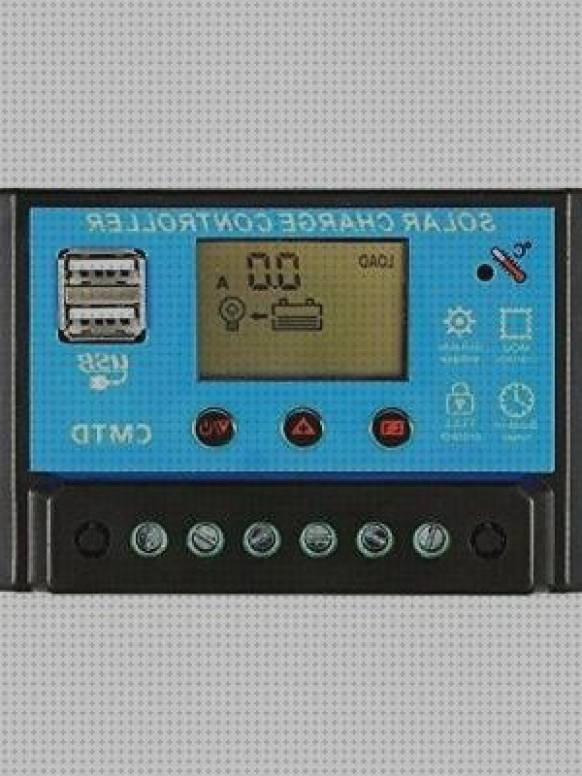 4 Mejores Anself 10a 20a 12v 24v Lcd Solar Charge Controller