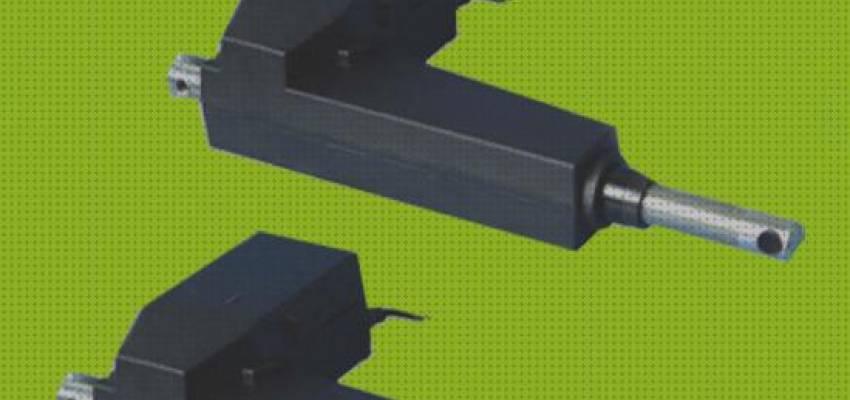 Bisujerro DC 24V Actuador Lineal 6000N Actuadores de Movimiento Lineal Actuador de L/ínea de Servicio Pesado con Soportes de Montaje Linear Actuator 200mm